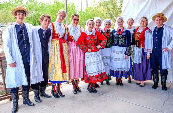 Tucson's Lajkonik Polish Dance group