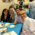 Sharing an Iftar Dinner