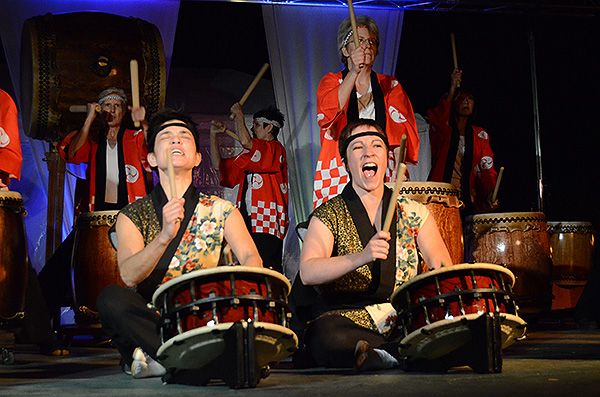 Odaiko Sonora at Tucson Meet Yourself in 2012