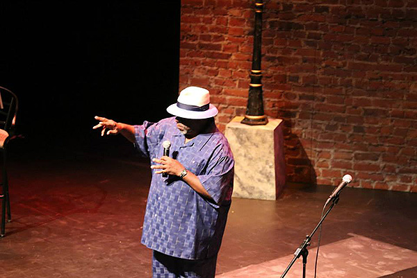 """Rod Ambrose onstage in """"The Art of Blues"""""""