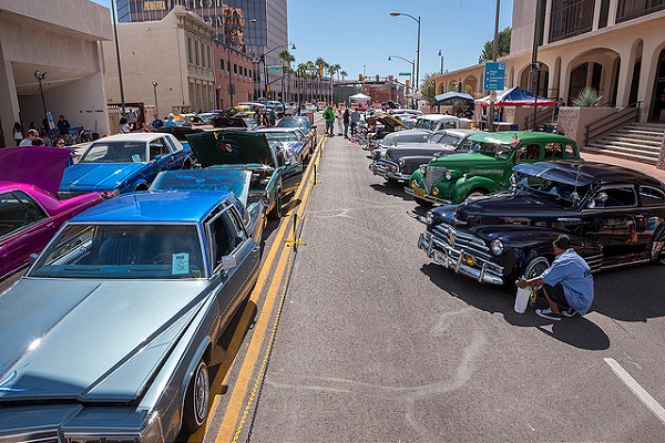 lowriders at Tucson Meet Yourself